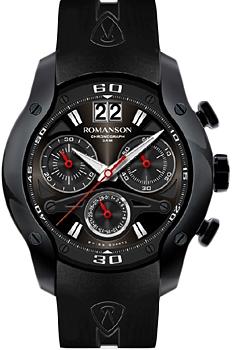 Мужские часы Romanson AL1216HMB(BK)