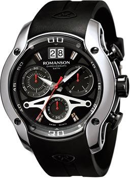Мужские часы Romanson AL1216HMD(BK)