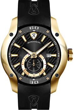 Мужские часы Romanson AL1216MP(BK)