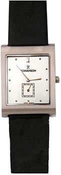 Мужские часы Romanson DL0581HMW(WH)