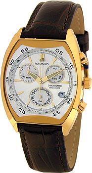 Мужские часы Romanson DL4141HMG(WH)
