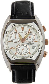 Мужские часы Romanson DL4141HMJ(WH)