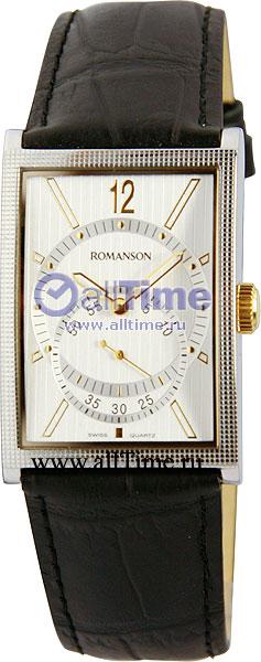 Мужские часы Romanson DL5146NMC(WH)
