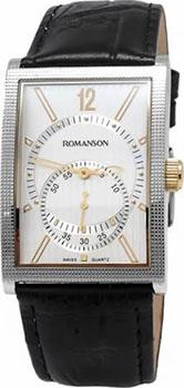 Мужские часы Romanson DL5146SMC(WH)
