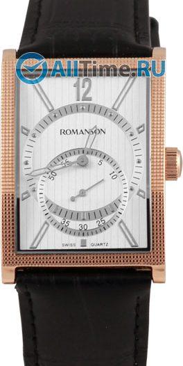 Мужские часы Romanson DL5146SMR(WH)