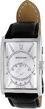 Мужские часы Romanson DL5146SMW(WH)