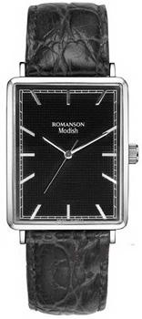 Женские часы Romanson DL5163SLW(BK)