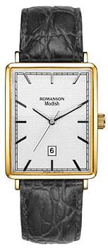 Мужские часы Romanson DL5163SMG(WH)