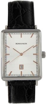 Мужские часы Romanson DL5163SMJ(WH)