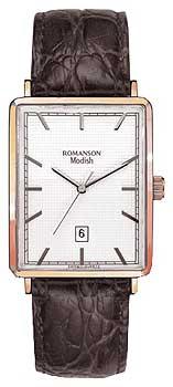 Мужские часы Romanson DL5163SMR(WH)