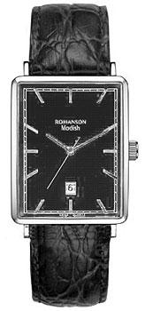 Мужские часы Romanson DL5163SMW(BK)