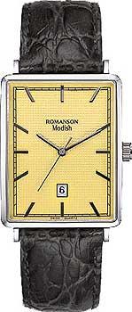 Мужские часы Romanson DL5163SMW(GD)