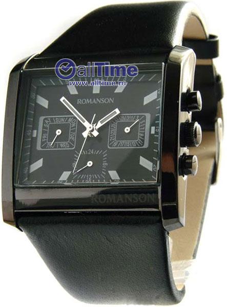 Мужские часы Romanson DL6134SMB(BK)