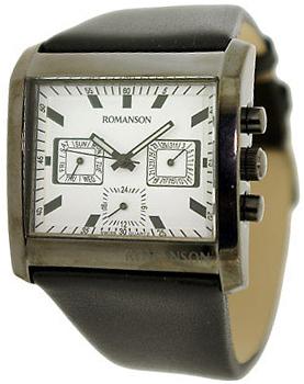 Мужские часы Romanson DL6134SMB(WH)