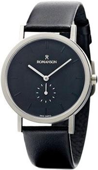 Мужские часы Romanson DL9782HMW(BK)
