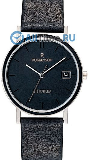 Женские часы Romanson DL9782SLW(BK)