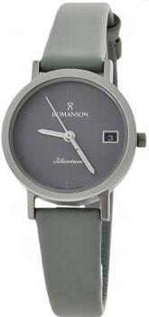 Женские часы Romanson DL9782SLW(GR)