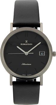 Мужские часы Romanson DL9782SMW(BK)