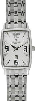 Мужские часы Romanson DM5127MW(WH)