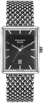 Женские часы Romanson DM5163LW(BK)