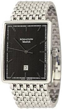 Мужские часы Romanson DM5163MW(BK)