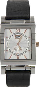 Мужские часы Romanson DN3565MJ(WH)