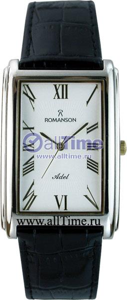 Мужские часы Romanson TL0110SXW(WH)