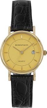 Женские часы Romanson NL1120SLG(GD)
