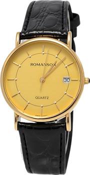 Мужские часы Romanson NL1120SMG(GD)