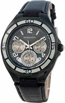 Женские часы Romanson RL0357UUB(BK)