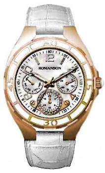 Женские часы Romanson RL0357UUG(WH)