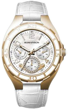 Женские часы Romanson RL0357UUR(WH)