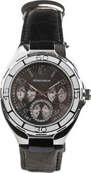Женские часы Romanson RL0357UUW(BK)