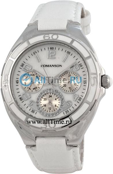Женские часы Romanson RL0357UUW(WH)