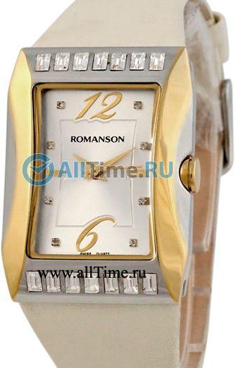 Женские часы Romanson RL0358QLC(WH)