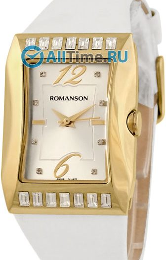 Женские часы Romanson RL0358QLG(WH)