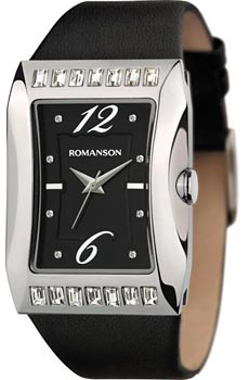Женские часы Romanson RL0358QLW(BK)