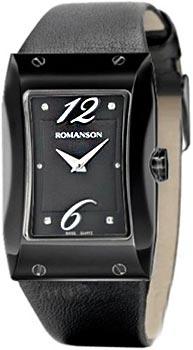 Женские часы Romanson RL0359LB(BK)