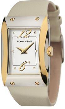 Женские часы Romanson RL0359LC(WH)