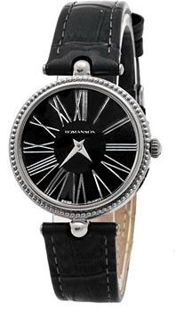 Женские часы Romanson RL0362LW(BK)