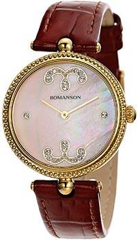Женские часы Romanson RL0363LG(PINK)