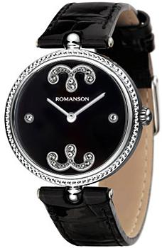 Женские часы Romanson RL0363LW(BK)
