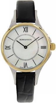 Женские часы Romanson RL0364LC(WH)