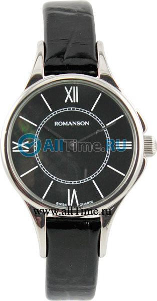 Женские часы Romanson RL0364LW(BK)