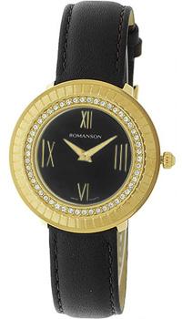 Женские часы Romanson RL0385TLG(BK)