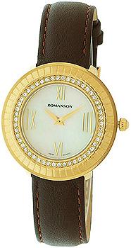 Женские часы Romanson RL0385TLG(WH)
