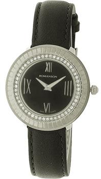 Женские часы Romanson RL0385TLW(BK)