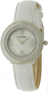 Женские часы Romanson RL0385TLW(WH)
