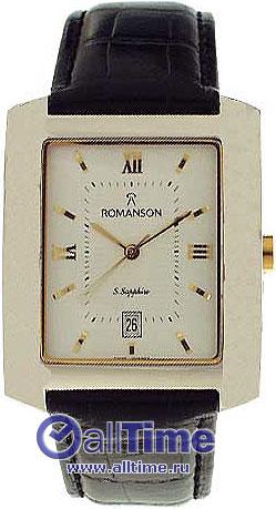 Мужские часы Romanson TL1107SXC(WH)