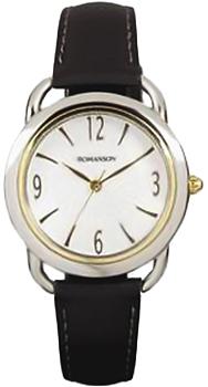 Женские часы Romanson RL1220LC(WH)BN